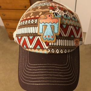 Women's ariat ball cap